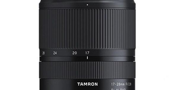 Tamron 17-28mm f/2.8 Di III RXD Lens (Sony E Mount)