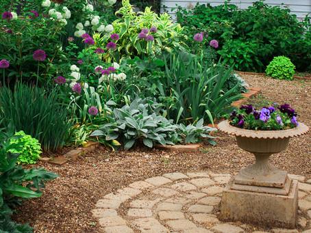 Create a low maintenance garden