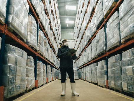 Complete checklist for warehouse cleaning