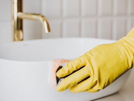 The differences between disinfecting and cleaning