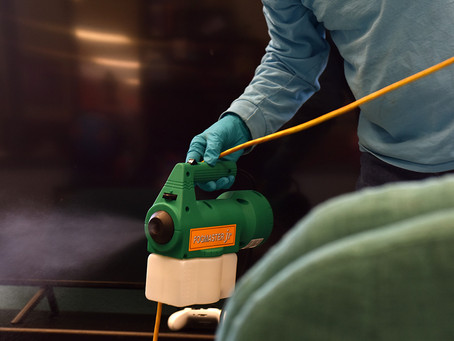 IWESCO offers fogging and disinfecting services