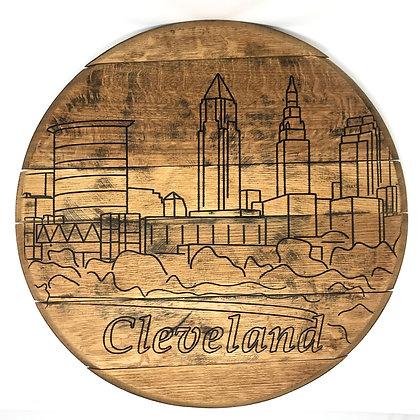 Whiskey Barrel Head, Cleveland Full