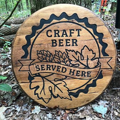 Whiskey Barrel Head, Craft Beer