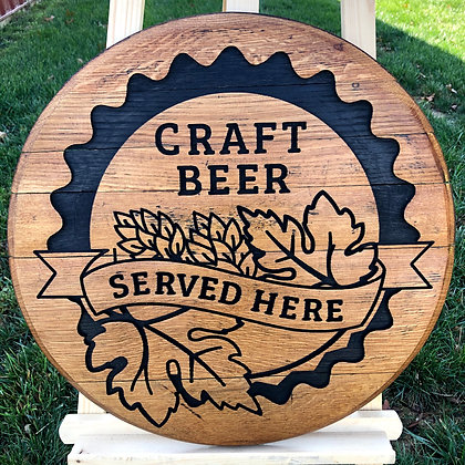 Craft Beer Barrel Head