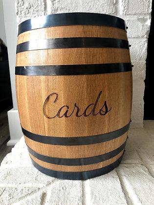 Barrel Wedding Card Holder