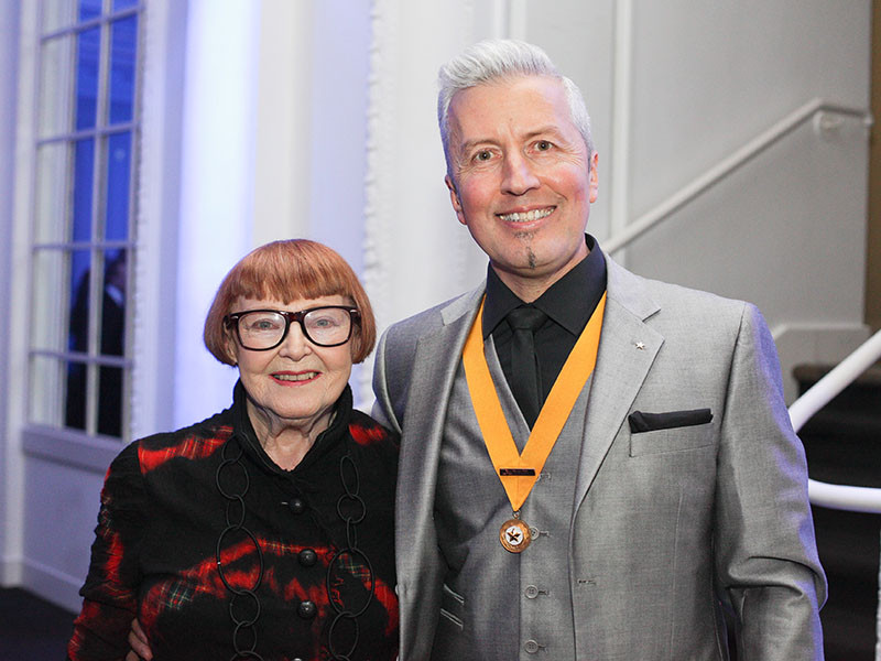 Anne Herman, Events Director & Patron of Honour Fellowship For British Hairdressing