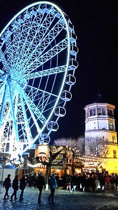 Blue Wheel, Duesseldorf 2015
