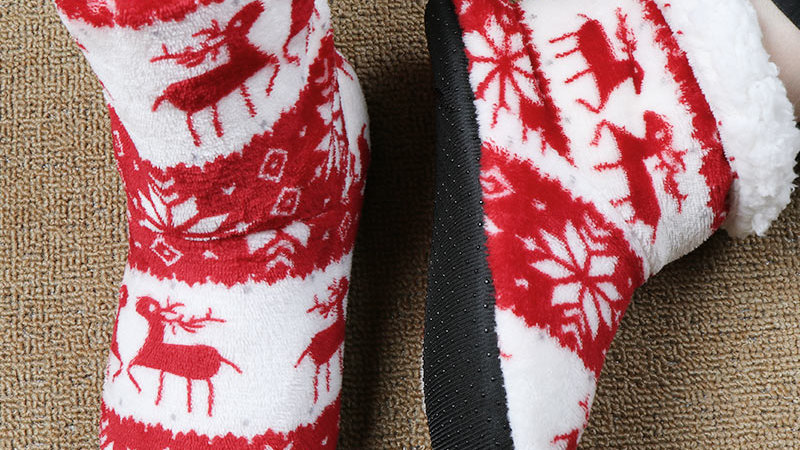 Woman House Winter Slippers