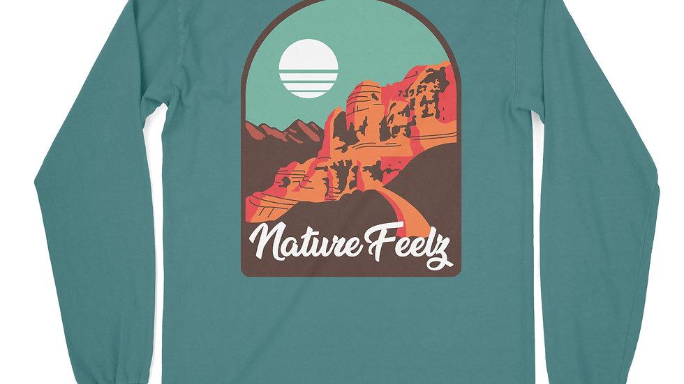 Desert Viewz Long Sleeve Blue Spruce
