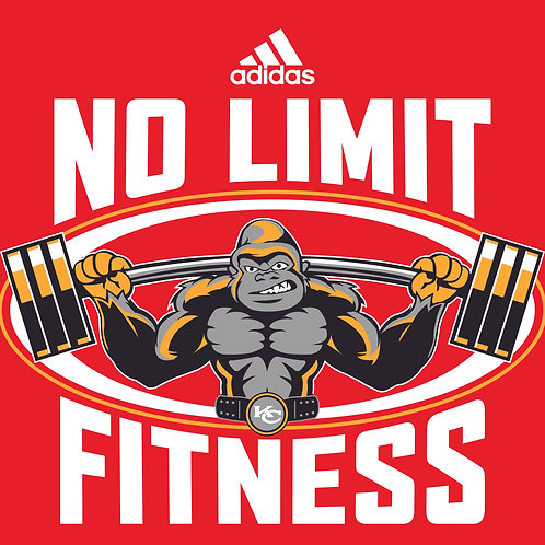 No Limit Fitness - Red