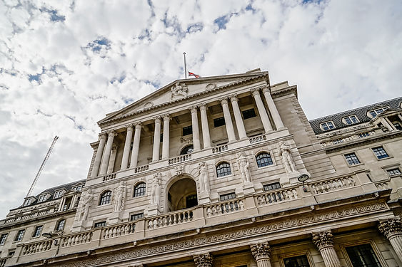 The Bank of England, City of London, UK.
