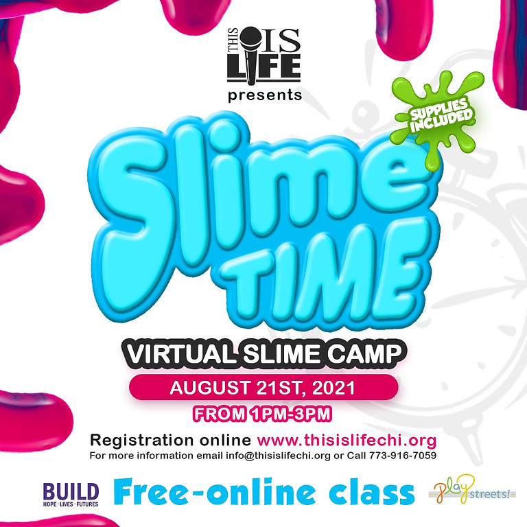 This is Life Virtual Slime Making Class