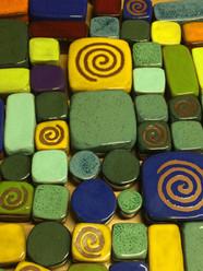 Keramik Garten Steine