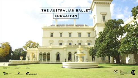The Governor's Performance Series - The Australian Ballet Education