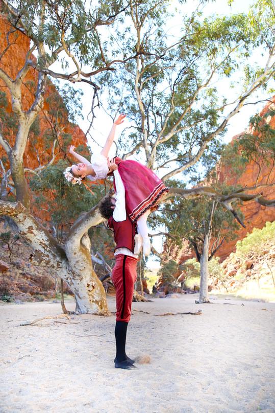 Artist of The Australian Ballet - Chantelle Van Der Hoek & Yhale Fien