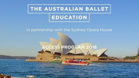 The Australian Ballet Education Program: Access Partnership with Sydney Opera House