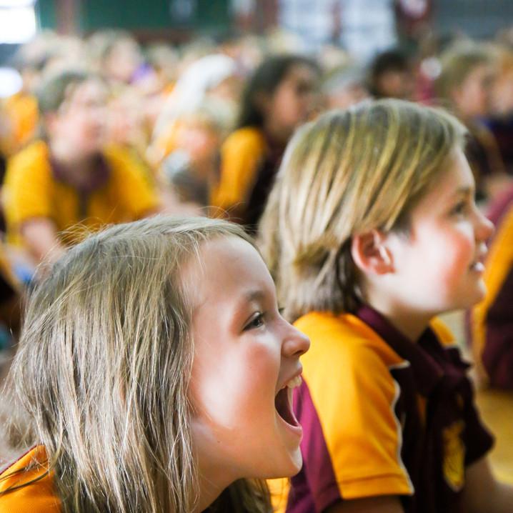 Edge Hill Primary School Students