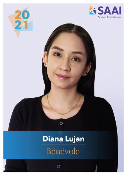Diana Lujan, bénévole