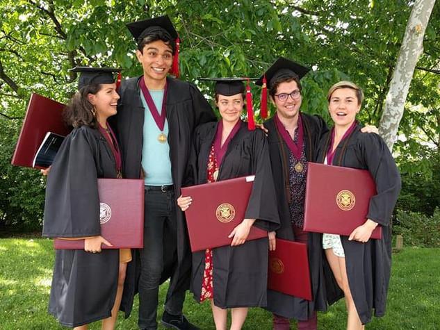 5 Members Graduate