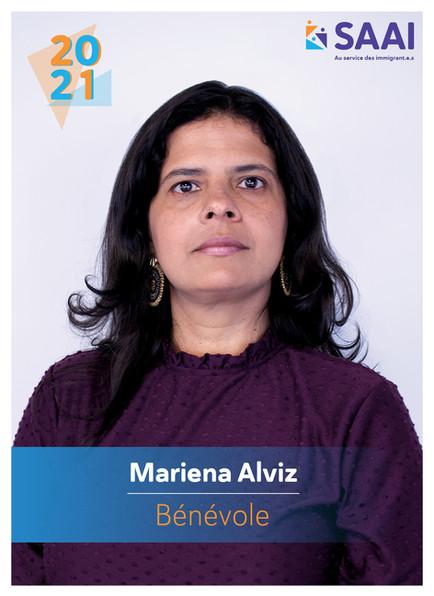 Mariena Alviz, bénévole