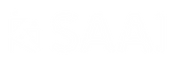 SAAI logo blanc