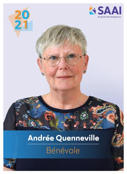 Andrée Quenneville, bénévole