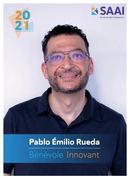 Pablo Emilio Rueda, Bénévole innovant