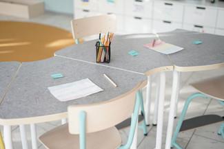 Vesterhavsskolan - Möbleringslösning