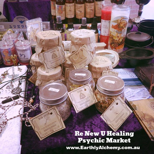 🌙 Re New U Healing - Psychic Market 🔮 Glad to meet all of you amazing people today ⭐️ We absolutel