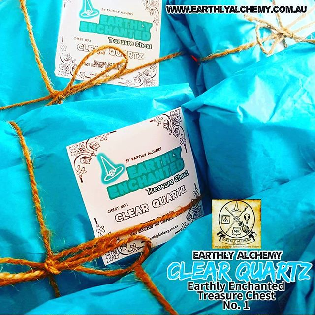 Yassss, the first _Earthly Enchanted Treasure Chest_ has safely delivered to your doorstep!_As most