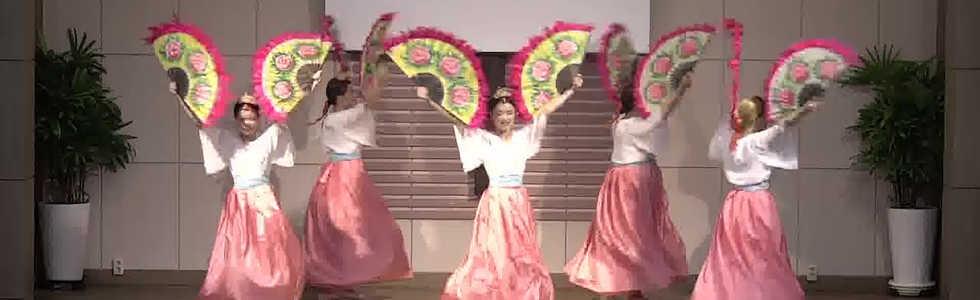 20180826 인도네시아 단기선교 부채춤