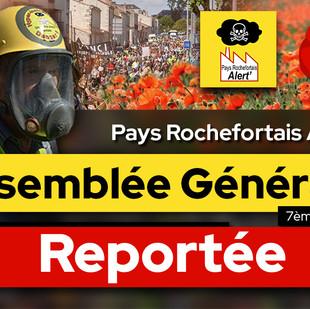 Assemblée Générale REPORTÉE, mais...