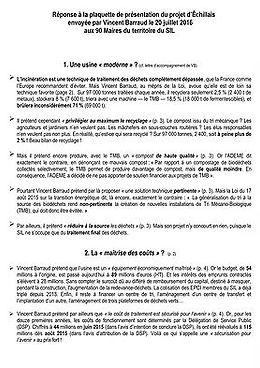 Réponse à la plaquete du SIL (PDF)