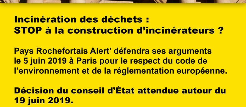 SIL/PRA' : Audience du CONSEIL D'ÉTAT mercredi 5 juin à 14h à Paris