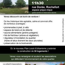 Sauvons les dernières terres vivantes de Rochefort !