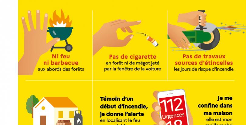 Charente-Maritime : FEUX DE FORET Comment les prévenir et s'en protéger ?