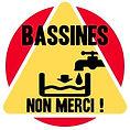 Bassines logo non merci pour nouveau sit