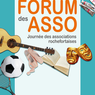 ROCHEFORT : Forum des Associations samedi 12 septembre de 10h à 18h