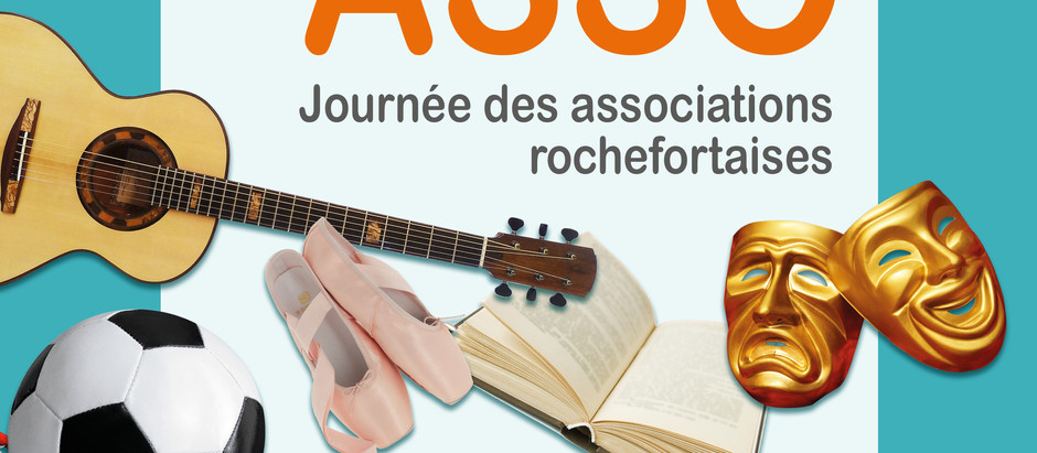 ROCHEFORT : Forum des Associations samedi 12 septembre de 10h à 18h