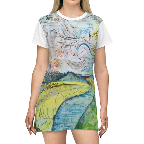 """""""All Heaven with Its Power"""" T-Shirt Dress"""