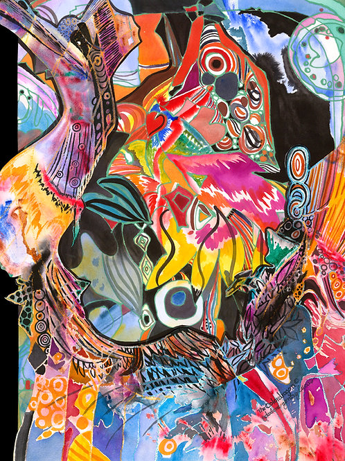 Color Dragon (Print)