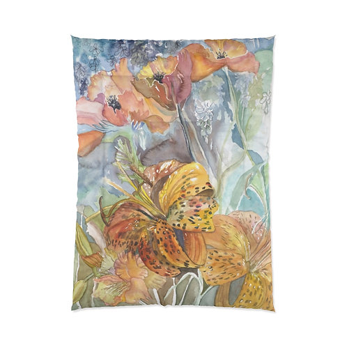 """Wind and Wild"" Twin Comforter"