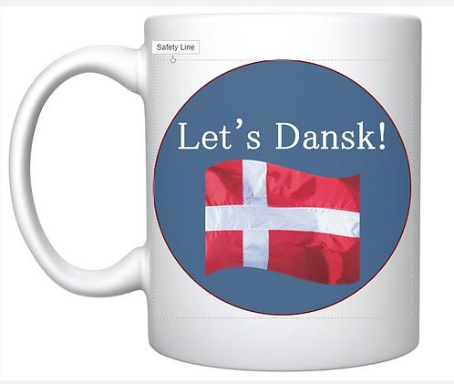 Let's Dansk! Mug