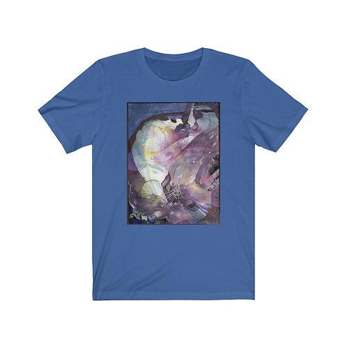 """Ancient Starlight"" Unisex Jersey Short Sleeve Tee"