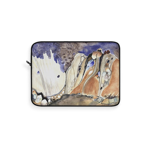 """Morchella Mountains"" Laptop Sleeve"