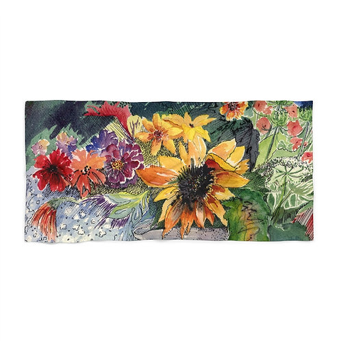 """Bouquet"" Beach Towel"