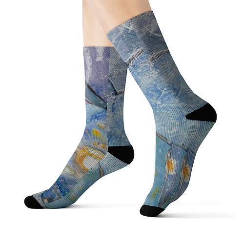"""Starlight Bending"" Socks"