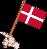 hand holding Danish Flag.png