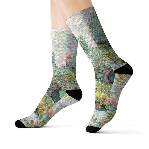 """Paix"" Socks"
