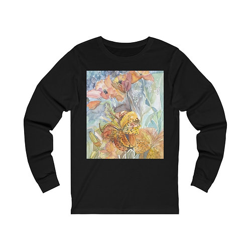 """Wind and Wild"" Unisex Jersey Long Sleeve Tee"